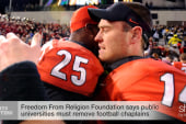 Is NCAA's 'Pray to Play' unconstitutional?