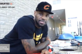 LeBron's Off-Day Looks Like Ours... Say What?