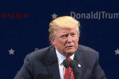 Trump coat comment a 'joke'