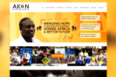 Akon lights up Africa