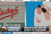 More stores opening on Thanksgiving