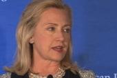 Clinton vows 'strong message' to Iran