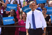 Polls show Obama ahead in many swing states