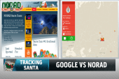 In tracking Santa, it's Google vs. NORAD