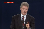 Clinton on crime and lessons from Dukakis