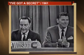 When Ronald Reagan was on a game show