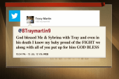 Trayvon Martin's parents respond on Twitter