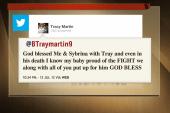 Trayvon Martin's parents respond on Twitter