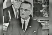 LBJ's first day as president
