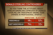 Poll: Races responded differently to Sterling