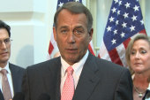 What's Boehner's strategy?