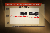 Is Obama in the midst of a second term slump?