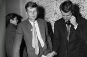 Kennedys were party outsiders until election