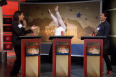 Relive high-stakes tensions of Up's game show