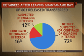 What's happened to released Guantanamo...