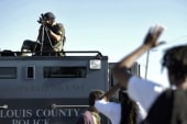 Bipartisan calls to demilitarize police