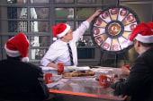 Up plays political Secret Santa
