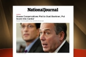 John Boehner's job security in trouble?