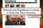 Penn. Gov. Tom Corbett not even very...