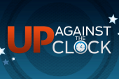 Your last chance at Up Against the Clock...