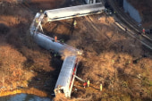 Deaths reported after NYC train derailment