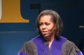 First lady touches on civil rights in...