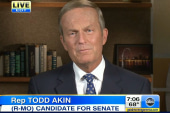 Akin sends GOP into disarray on abortion...