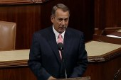 All eyes on Boehner as shutdown looms