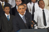 Speech glimpses into Obama's 'interior life'