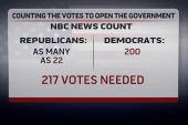 Not enough House votes to pass a clean CR?