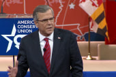 Jeb Bush battles for acceptance at CPAC