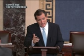 Cruz's faux filibuster exposes rifts in GOP