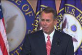 Boehner pushes back at GOP budget backlash