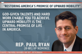 Ryan set to deliver speech on upward...