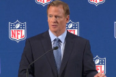 The NFL commissioner breaks his silence