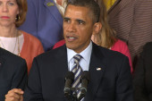 Pres. Obama raises stakes in gun control...