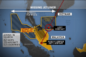 Search widens for missing flight