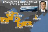 Obama, Romney take campaign shows on the road