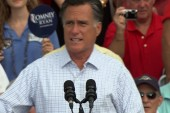 Romney continues the hard press on Obama