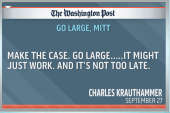 Can Romney save himself by 'going large'?