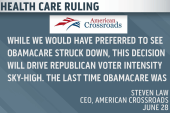 Could health care ruling help Republicans...