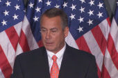 Boehner sets debt vote without conditions
