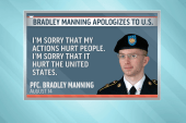 Bradley Manning apologizes to the US