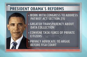 Obama makes tough sell on surveillance reform
