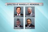 World leaders gather for Mandela's memorial