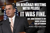 Pelosi, Boehner meet about Benghazi panel