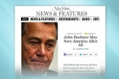 Is Speaker Boehner headed for the exit?