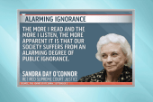 Sandra Day O'Connor laments the state of...