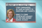 Military sex assault bills get a vote