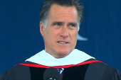 Romney tries to win over evangelicals at...